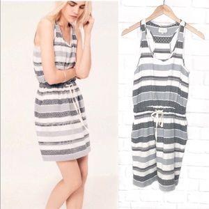 Lou & Grey Striped Sleeveless Dress Casual XSmall